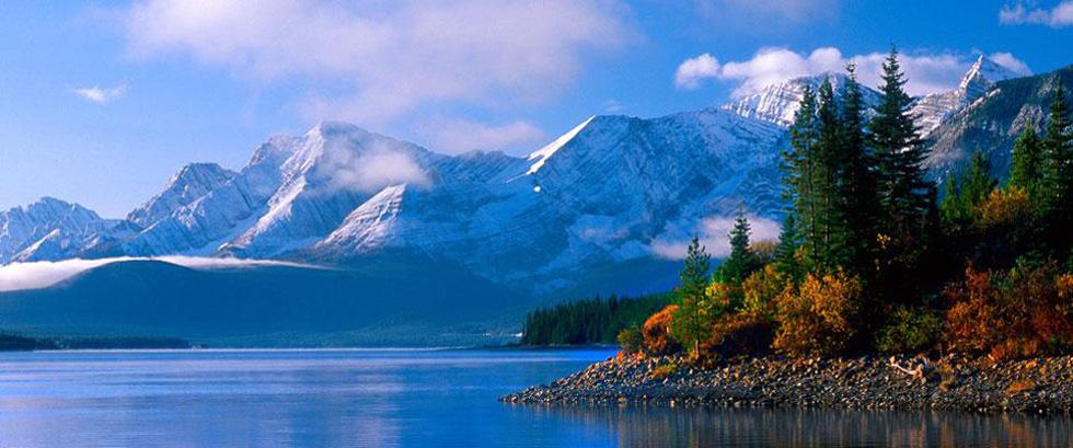Upper Lake, Kananaskis Alberta Canada