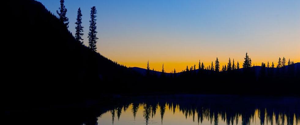 Forgetmenot Pond, Kananaskis Alberta Canada