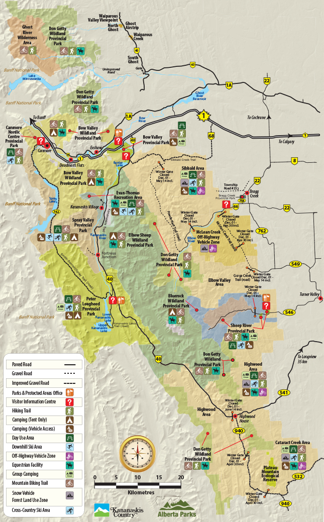 Trail Maps - Friends of Kananaskis Country on